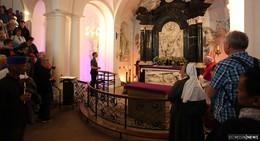 Pilger feiern Abschlussmesse im Hohen Dom zu Fulda