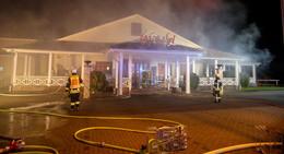 Nächtlicher Feuerwehreinsatz bei Cafe del Sol - Ermittlungen laufen