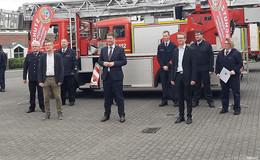 Brandschutzteam Vogelsberg-West ist Feuerwehr des Monats Juni