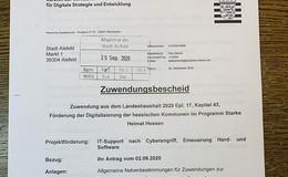 Nach Hackerangriff: Stadt erhält 45.000 Euro für Digitalisierung