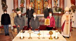 Pontifikalamt in Ufhausen – 100 Jahre Bischofsweihe Bonifaz Sauer