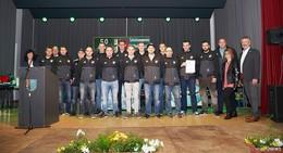 Sportschützen des SV Mittelkalbach räumen bei Sportlerehrung ab