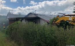 Scheunenbrand in Flieden-Rückers: Photovoltaikanlage war wohl Auslöser