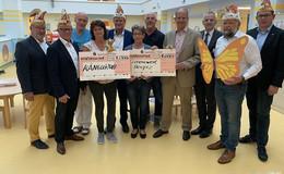 2.000 Euro für Kinderklinik und Hospiz-Förderverein Lebenswert
