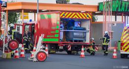 Feuerwehreinsatz: Große Mengen Kraftstoff ausgelaufen