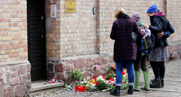 Mahnwache für die Opfer von Halle (Saale) in Fulda
