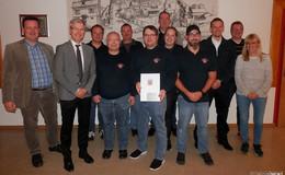 Feuerwehr Ohmes erhält Förderung zur Renovierung der Vereinsräume