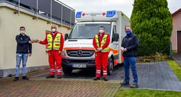 Rotes Kreuz stellt in Welkers zweiten Rettungswagen in Dienst - Neubau kommt