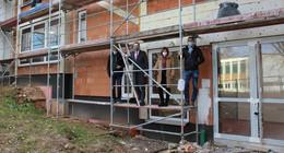 Ernst-von-Harnack-Schule: Vier neue Klassenräume fertiggestellt