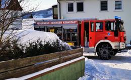 Einsatz in Leimbach: Wasser in Keller - Hauptanschluss geplatzt