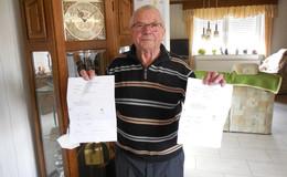 Zum Kopfschütteln: Bereits geimpfter Rentner (81) erhält weitere Termine