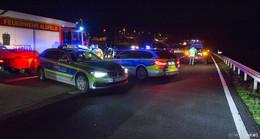 48-jähriger Pole auf A5 von Auto erfasst und überrollt - tot