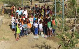 Strom für die Schule in Hadha mit finanzieller Unterstützung der Gemeinde