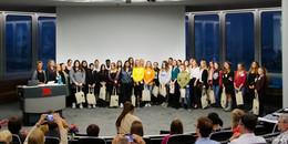 30 Technikantinnen zum Schnupperstudium in der Hochschule begrüßt