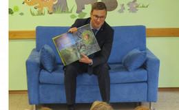 Bücher sind wie Kekse: Vorlesetag im Kindergarten Pfiffikus