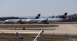 Landebahn am Frankfurter Flughafen wird zum Mega-Parkplatz