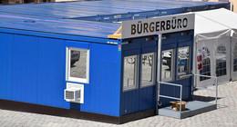 Bürgerbüro wird neu gestaltet: Sprechstunde jetzt im Container