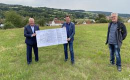 Baugebiet in Sieglos nimmt nach 20 Jahren Fahrt auf: Bereits 15 Interessenten