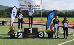 Deutsche Meisterin im Rasenkraftsport: Madeleine Schade