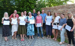 Zertifikate für erfolgreiche Pädagogen