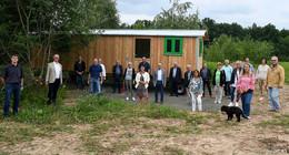 Auftakt der CDU-Sommerbegehung bei neuer Wald-Kita