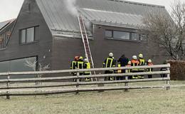 Feuerwehreinsatz in Steinwand: Qualm aus Kabelschacht