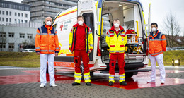 Live-Stream: DRK Fulda präsentiert neuen Baby-Krankentransportwagen online