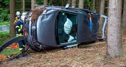 Unfall zwischen Langenberg und Obergruben: 63-Jährige leicht verletzt