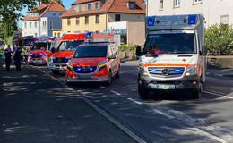 Unfall am Zentralfriedhof: vier Personen verletzt