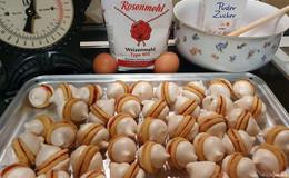 Geschmacksexplosion für den Gaumen: Gefüllte Kekse mit Baiserhaube