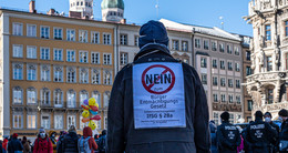 Querdenker-Demo am Sonntag in Hanau und Darmstadt angekündigt