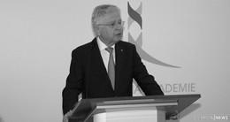 Trauer um Prof. Hans-Joachim Jentsch: Eine herausragende Persönlichkeit