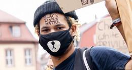 Demo gegen Rassismus - weitere Impressionen