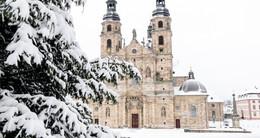 Eingeschneite Barockstadt - Winterimpressionen von Fuldas Innenstadt
