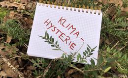 Unwort des Jahres gekürt - Klimahysterie belegt ersten Platz