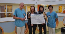Mitarbeiter-Spendenaktion zu Gunsten des Fördervereins Känguruh
