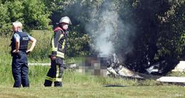 Nach Flugzeugabsturz: Johannisau-Kleingärtner sind geschockt und fassungslos