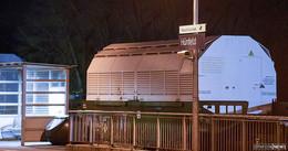 Im Mittelpunkt des Geschehens: Bundespolizei schützt Castor-Transport