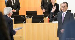 Ministerpräsident Volker Bouffier vereidigt Michael Boddenberg