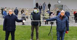 CDU-Kreisparteitag am Fußballplatz: Landrat Dr. Michael Koch tritt wieder an