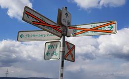 Viele Radwege nicht mehr passierbar: Eingeschränkte Wegnutzung wegen A49