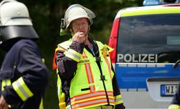 Bagger beschädigt Gasleitung in Bimbach - Fenster geschlossen halten!
