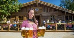 Zurück auf der Q-Alm! Bayrisches Schmankerlbuffet im Biergarten