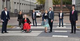 Hilfe am Rosengarten: Barrierefrei vom Behördenzentrum zum Bürgergarten