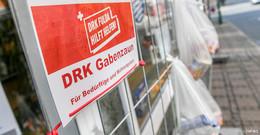 Der DRK-Gabenzaun geht – die Idee der guten Tat bleibt