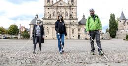 Sich blind verstehen: O N auf Entdeckungstour mit Werner Auth