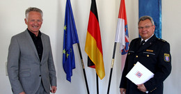 Polizeioberrat Stefan Böhning in den Ruhestand verabschiedet