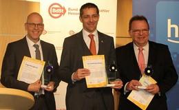 Vorbildliche kommunale Projekte mit Spar-Euro ausgezeichnet