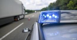 Unfall auf A7 am Dreieck Fulda - PKW fährt in Lkw: Eine Person verletzt