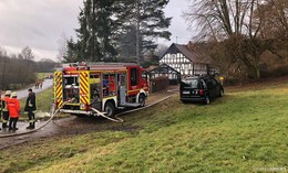 Kaminbrand in Stockhausen - Schornsteinfeger verhindert Schlimmeres